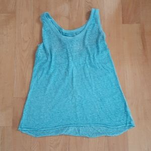 American Eagle Outfitters blue tank top